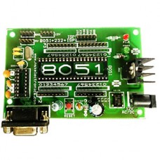 8051 +RS232+ISP SMALL DEVLOPMENT BOARD