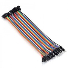 1 PIN DUAL FEMALE JUMPER WIRE