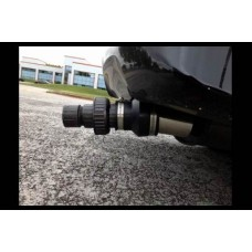 Carbon controlling device from vehicle exhaust