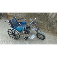 Design & Fabrication of Attachable Wheelchair Automator