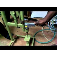 Fabrication and Design of Pneumatic Drilling Machine