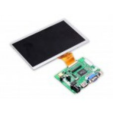 LCD SCREEN DISPLAY MONITOR 7 INCH +DRIVER BOARD FOR RASPBERRY PI