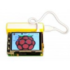 "RASPBERRY PI 2 KIT WITH 3.2"" TOUCH LCD BATTERY BACKUP"