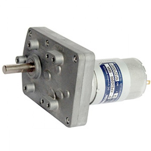 500 RPM Square Geared Motor